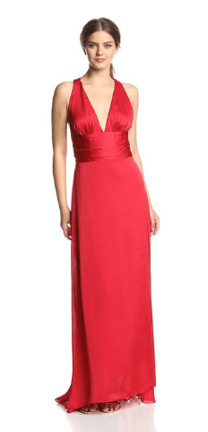 Ever Pretty Trailing V-Neck Gown
