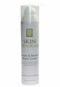 skin all natural scars stretch marks cream