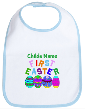 Cafe Press First Easter Bib