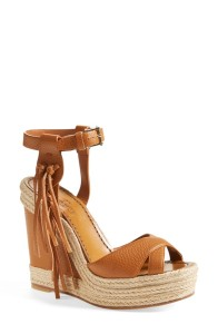 Fringe Wedge sandal