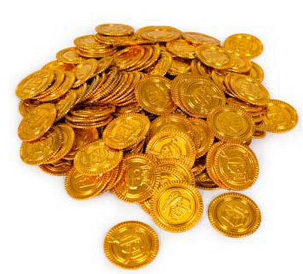 Gold Coins (144-pack)