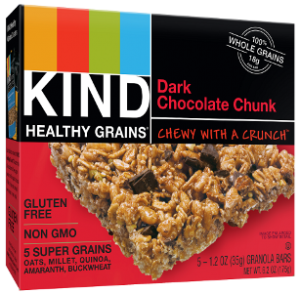Healthy Grains Dark Chocolate Chunk Bars