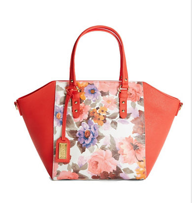 Maelisandre Floral Saffiano Leather