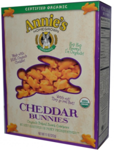Organic Cheddar Bunnies Crackers