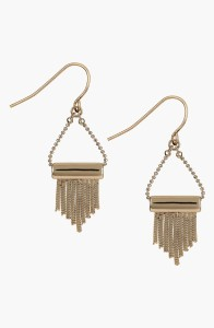 Sam Edelman Fringe Drop Earrings