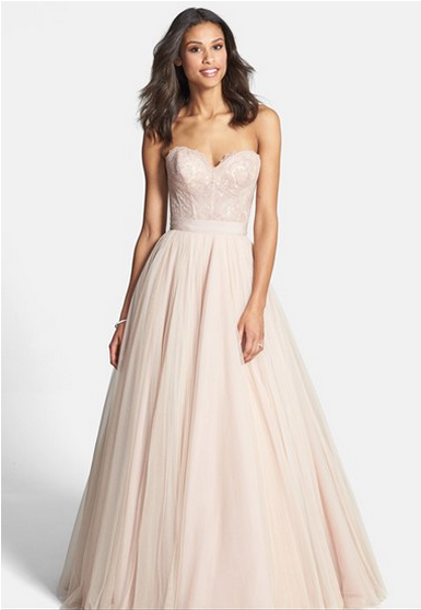 Watters 'Ahsan' Tulle Skirt