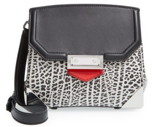 Alexander Wang 'Marion Prisma' Embossed Leather Crossbody Bag