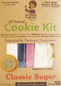 All Natural Classic Sugar Cookie Kit