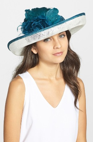 August Hat Romantic Profile Derby Hat