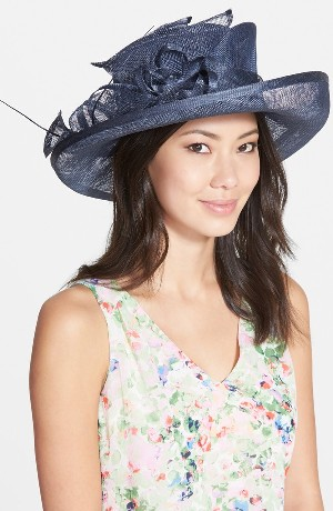 August Hat 'Romantic Profile' Upbrim Hat