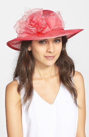 August Hat Straw Derby Hat