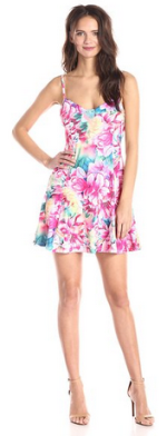 Lucca Couture Women's Lilly Printed Strappy Dress