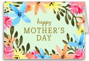 Pardise Floral Mother's Day Card