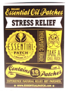 Stress Relief Essential Oil Patches