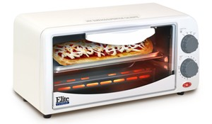 Elite by Maxi-Matic Cuisine 2-Slice Toaster Oven with Broiler and Timer