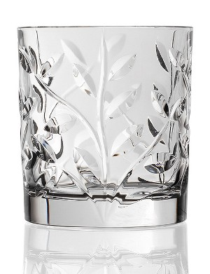 Lorren Home Trends Laurus RCR Crystal Double Old Fashioned Glass