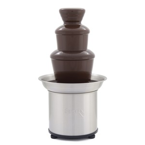 Sephra 16 Select Fondue Fountain in Brushed Stainless Steel