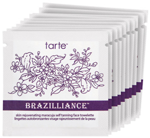 Tarte Brazilliance Skin Rejuvenating Maracuja Self Tanning Face Towelettes