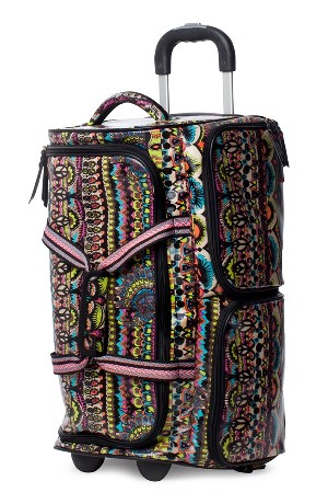Sakroots 'Artist Circle' Rolling Carry-On Duffel Bag