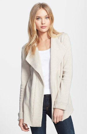 Stem Drape Collar Jacket