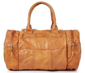 Topshop Large Leather Sports Bag
