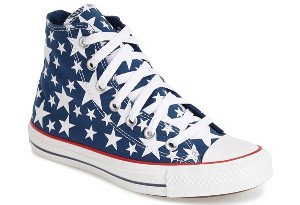 Converse Chuck Taylor® All Star® 'Multi Star' High Top Sneaker