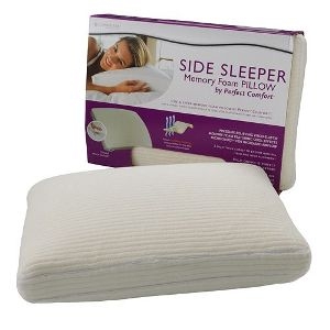 Perfect Comfort™ Memory Foam Side Sleeper Pillow