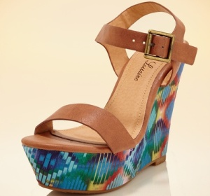 Sexy Printed Wedge