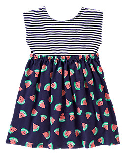 Striped Watermelon Dress