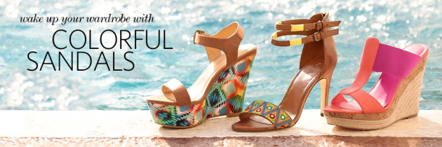 Summer Trend 2015: Colorful Sandals