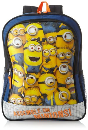 Despicable Me Big Boys' Minion Crowd Backpack