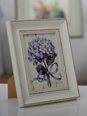 Home Accents Distressed Wood Picture Frame