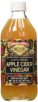 Trader Joe's Organic Pasteurized Unfiltered Apple Cider Vinegar