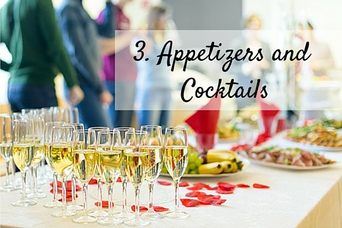 3. Appetizers and Cocktails