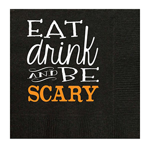 Eat, Drink and Be Scary Napkins
