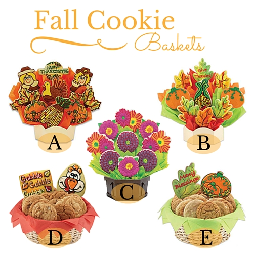 Fall Cookie Baskets - Edited