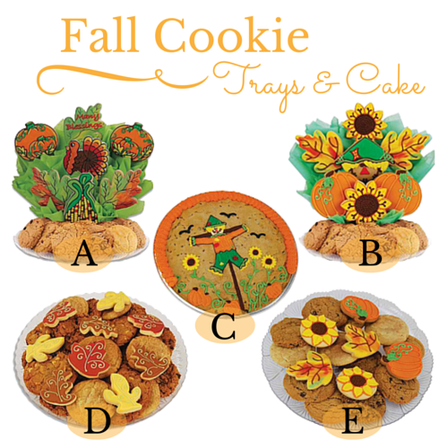 Fall Cookie Trays & Cakes - Edited