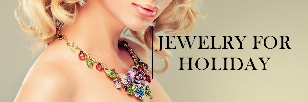 Seasonal Sparkle: Jewelry this Holiday
