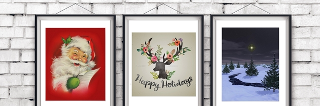 Holiday Wall Art for Your Home