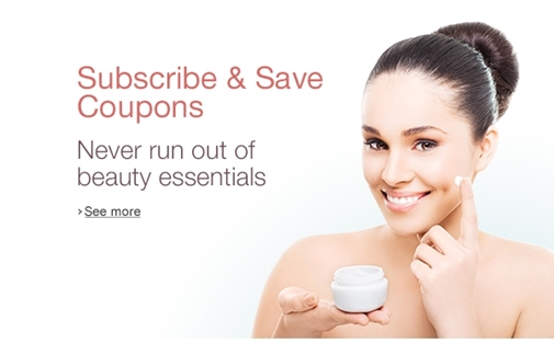 Subscribe and Save - beauty essentials