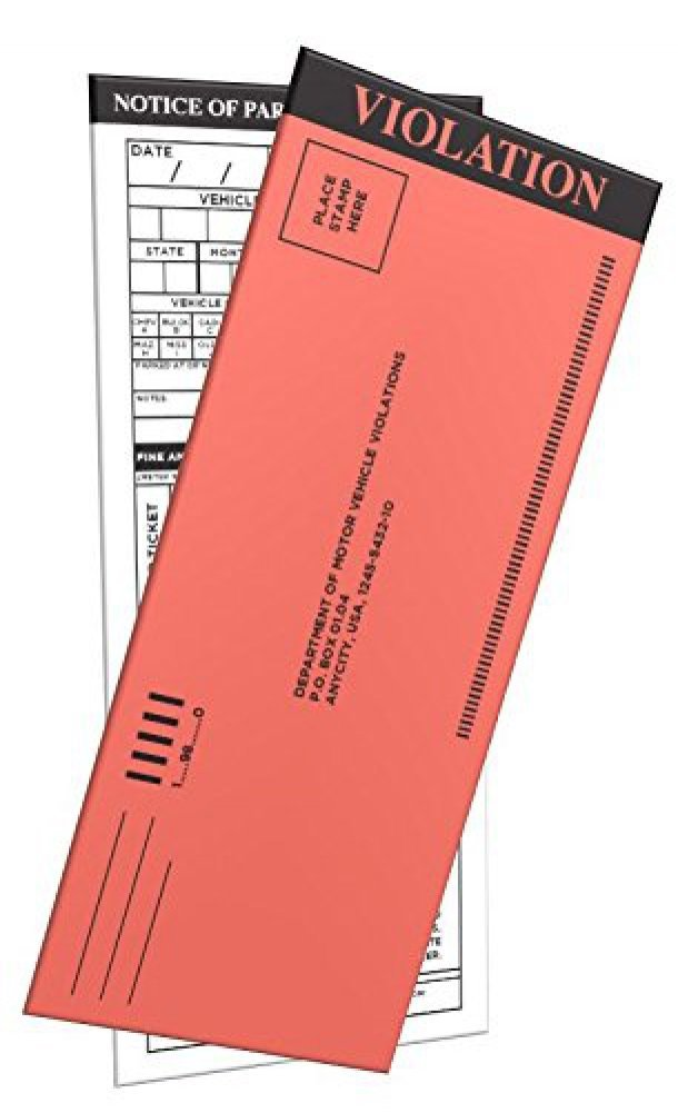 100-Pack Fake Parking Tickets