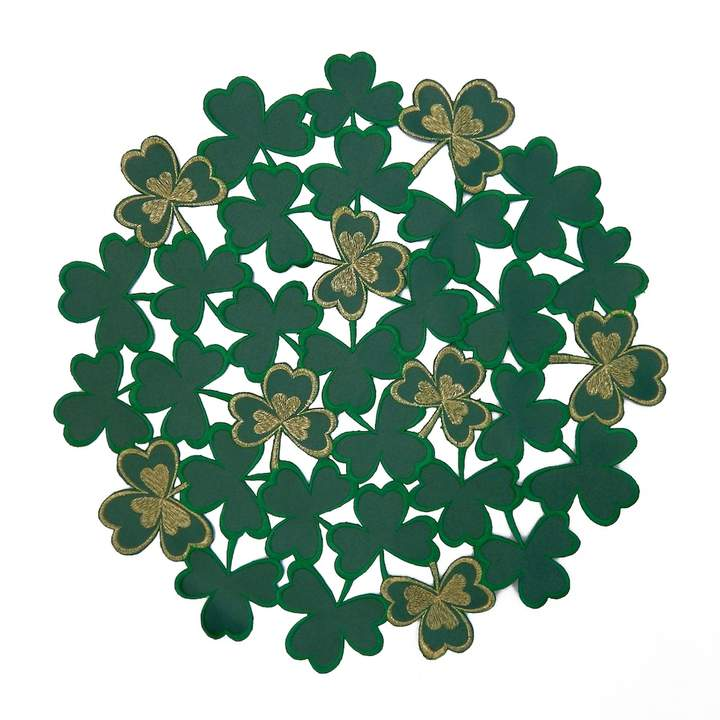 Celebrate St. Patricks Day Together Celebrate St. Patrick's Day Together Shamrock Placemat