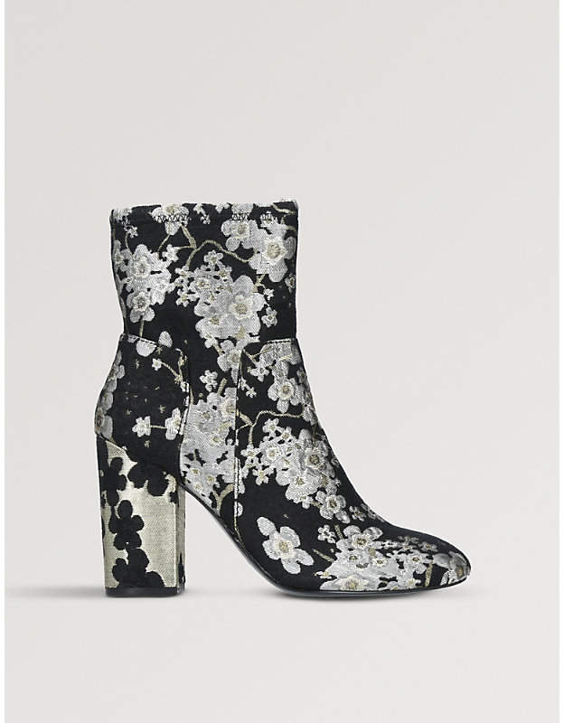 Nine West Corban Brocade Ankle Boots