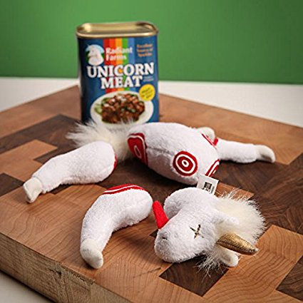 ThinkGeek Easy-Open Canned Unicorn Meat 2