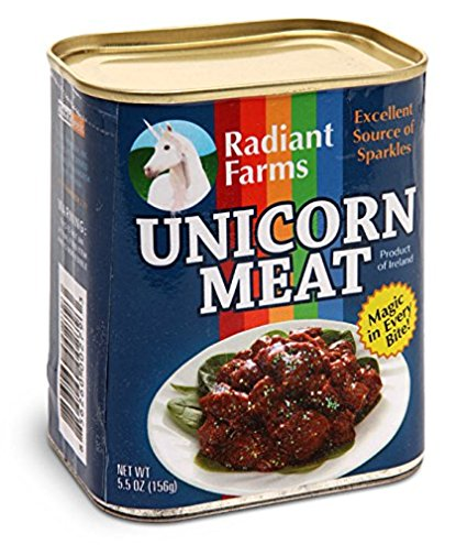ThinkGeek Easy-Open Canned Unicorn Meat