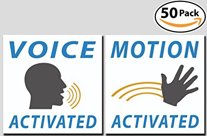 Voice & Motion Activated Prank Stickers