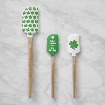Williams Sonoma St. Patrick's Day Silicone Spatulas
