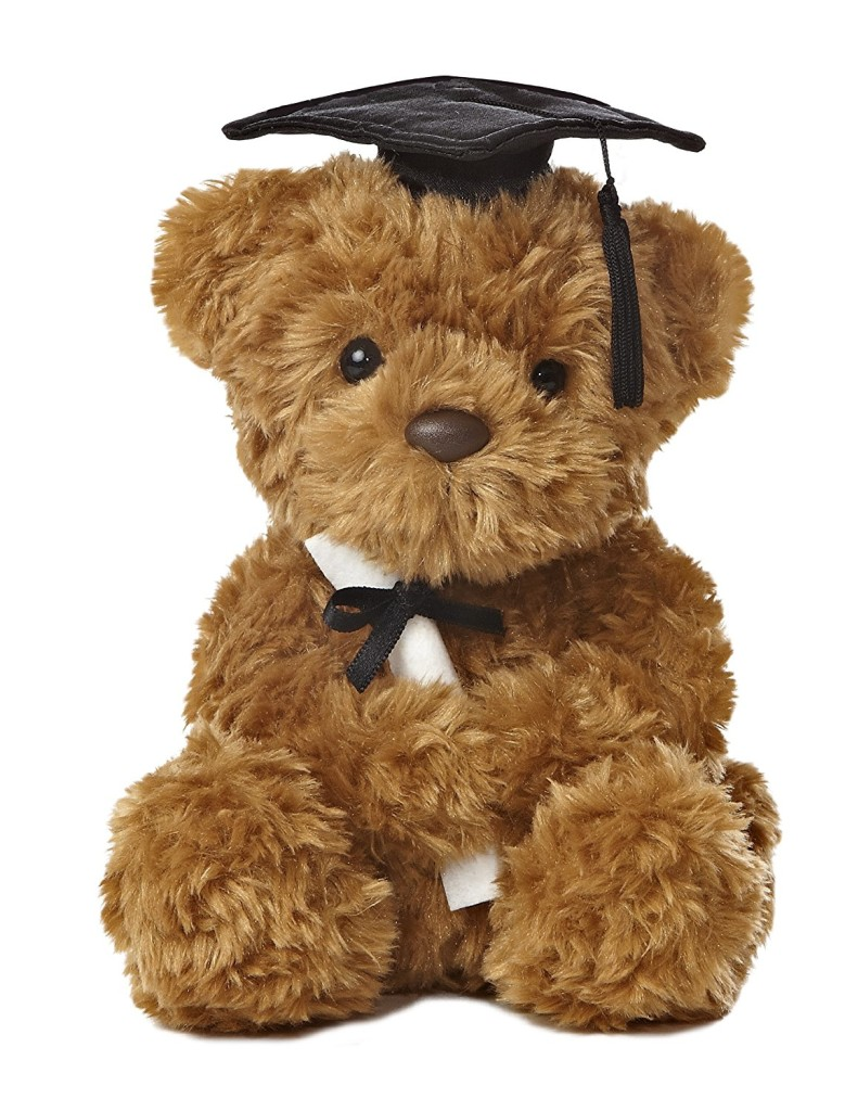 Plush Graduation Bear