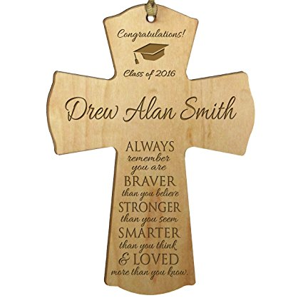 Personalized Wall Cross Graduation Gift