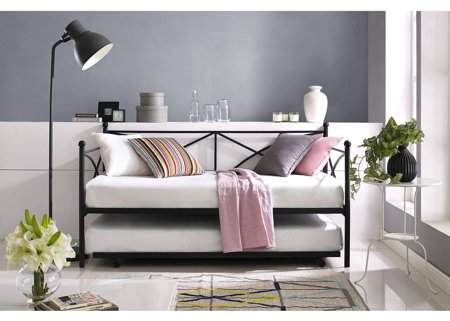 Mainstays Monaco Metal Twin Daybed and Trundle